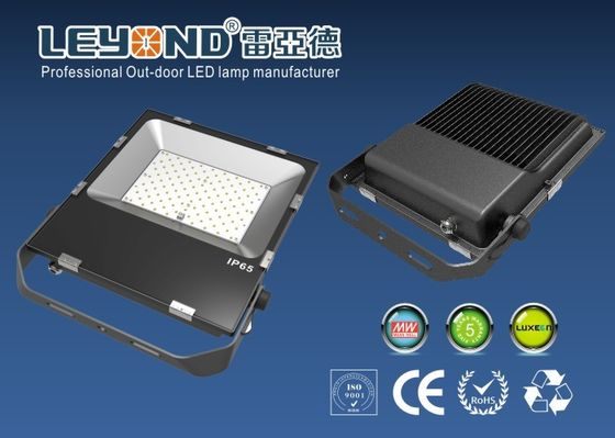 ประเทศจีน Sport Field 100w Waterproof LED Flood Lights Black Body SMD Lumileds 3030 chip ผู้ผลิต