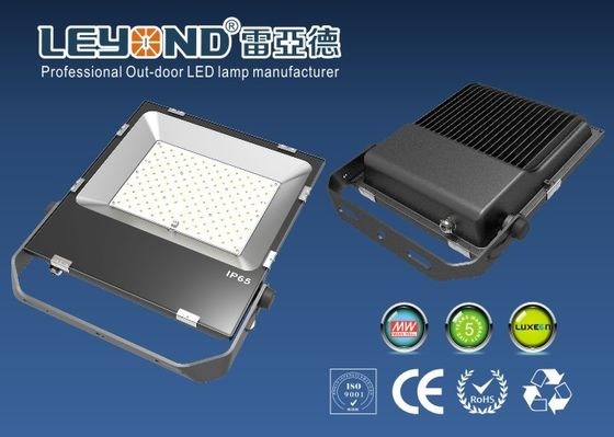 ประเทศจีน High Power Waterproof Outdoor LED Flood Lights With Aluminum Material , AC100-240V ผู้ผลิต