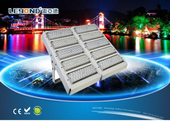 ประเทศจีน Football Ground Or Big Stadium Lighting CE, ROHS Approved 160LM/W High Lumens 500W Big Power Modular LED Flood Light ผู้จัดจำหน่าย